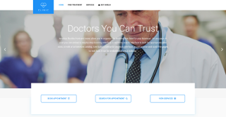 Healthcare and medical organizations demo of Amelia plugin.