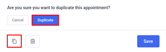 Amelia WordPress - Duplicate Appointment
