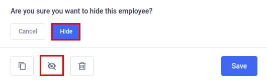Amelia WordPress - Hide employee