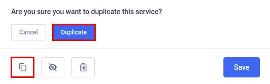 Amelia WordPress - Duplicate Service