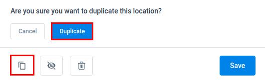 Amelia WordPress - Duplicate Location