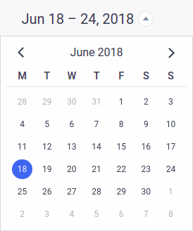 Amelia WordPress - Calendar Navigation