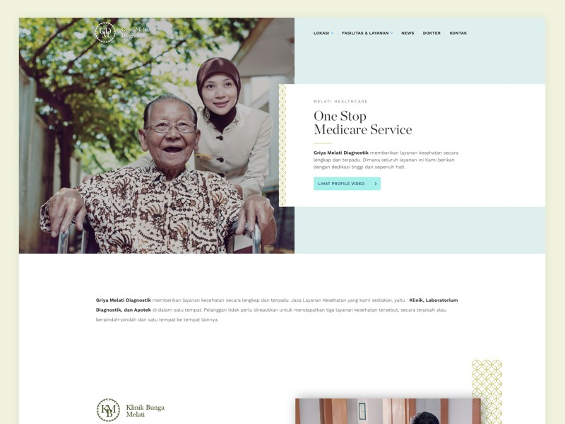 https://dribbble.com/shots/3686976-Medical-Clinic-Website-WIP