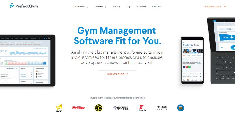 bcff3c0a712 PerfectGym is all-in-one club management software for wellness and fitness  professionals. The features can be customized to best fit your needs.