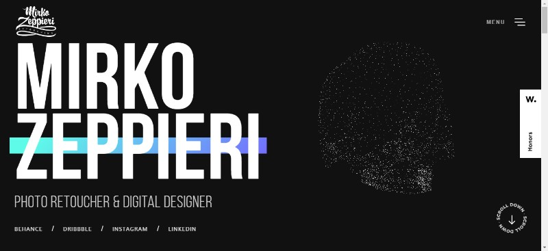 Amazing Portfolio Websites with Great Design (145 Examples) 888e66a9c