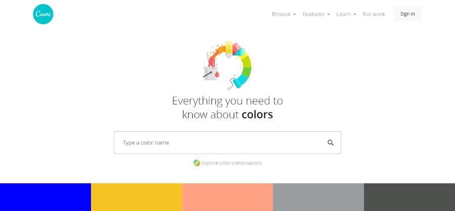 Website Color Schemes that Look Amazing: 30 Color Palettes