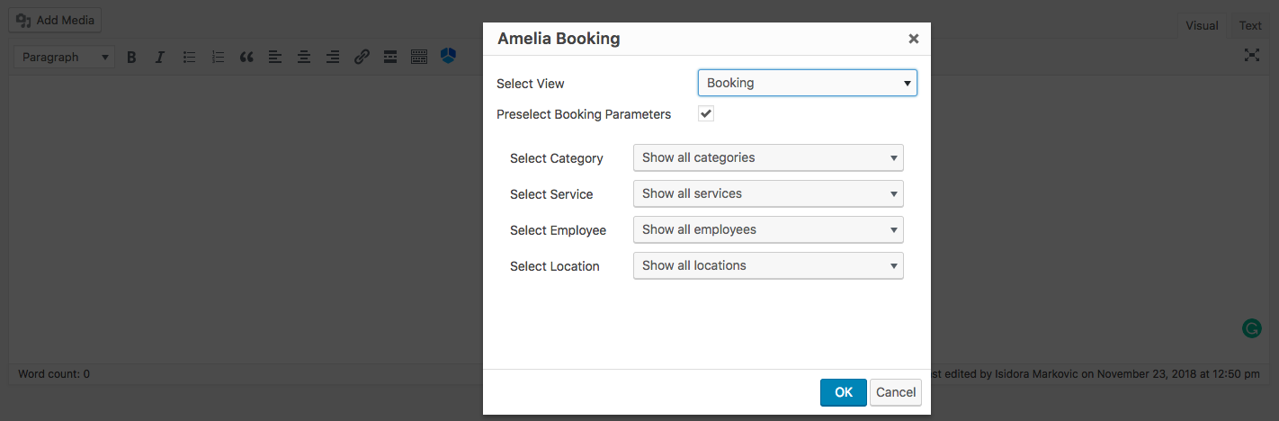 Step-By-Step Booking Wizard - Amelia Booking WordPress Plugin