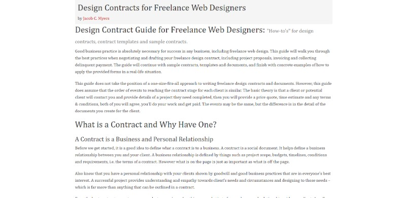 6 Useful Web Design Contract Templates You Wish You Had Sooner,Sharepoint Site Design Inspiration