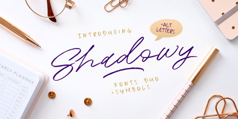 Cursive fonts to use in your next project Resources