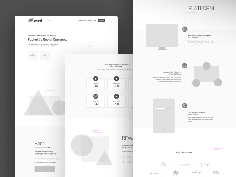 A Few Neat Website Wireframe Examples You Should Download