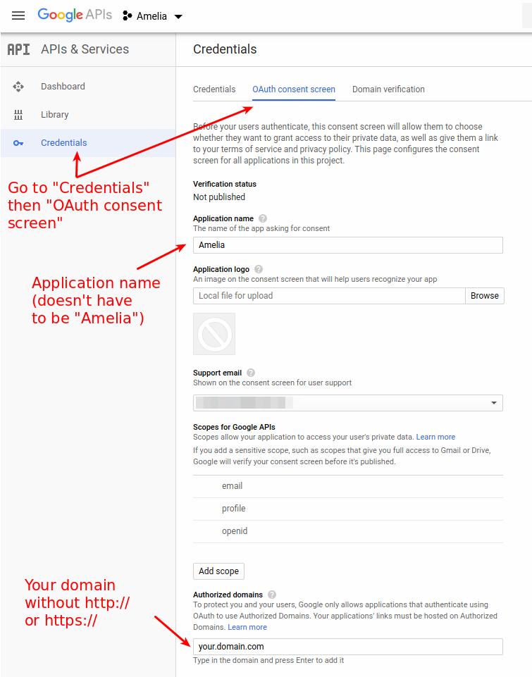 Configuring Google Calendar 2-way Sync - Amelia Booking