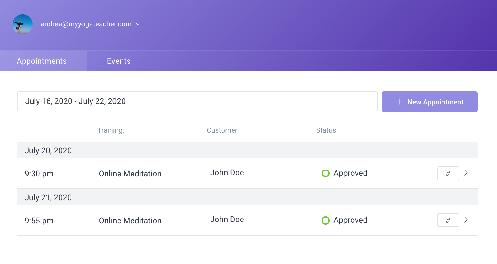 Front-end Employee panel Amelia WordPress Booking plugin
