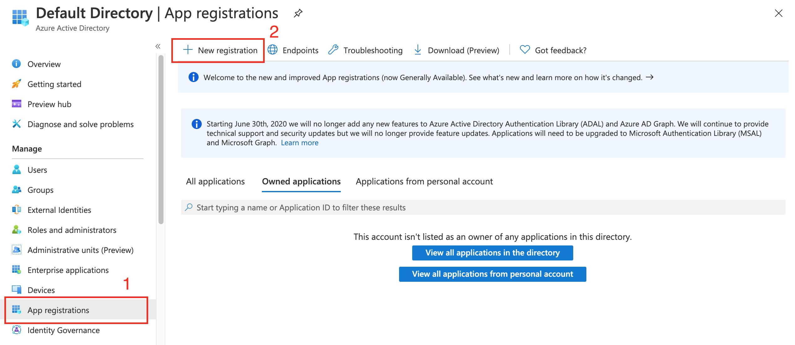 Apps registration Outlook Amelia WordPress Booking plugin