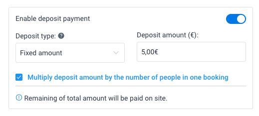 Fixed Deposit Amelia WordPress Booking Plugin