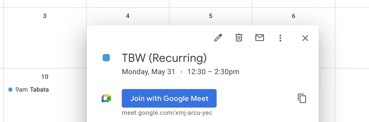 Google Meet Join Amelia WordPress Booking plugin